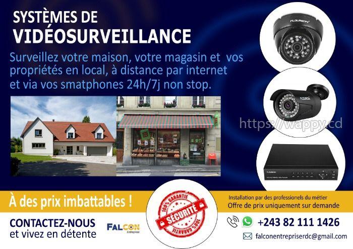 Système de vidéosurveillance à moindre coût !