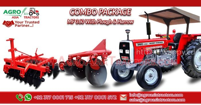 Massey Ferguson Tractor Combo Package