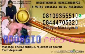 ADDAGIO MASSAGES - Domicile·Résidence·Hôtel