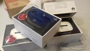 Modem WiFi Huawei standard avec sim