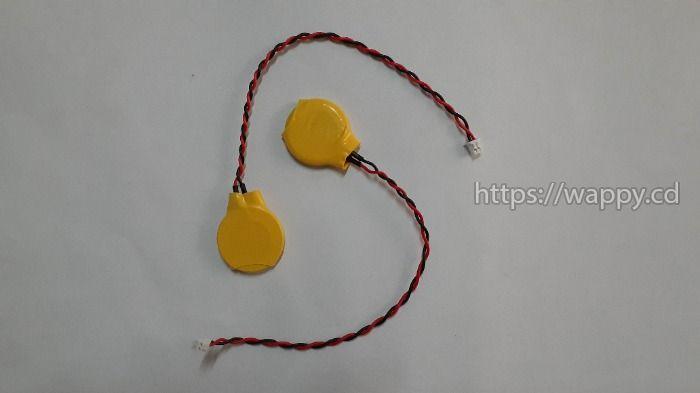 Piles CR2032 avec connecteur