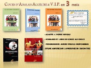 COURS D'ANGLAIS V.IP. EN PRIVEE