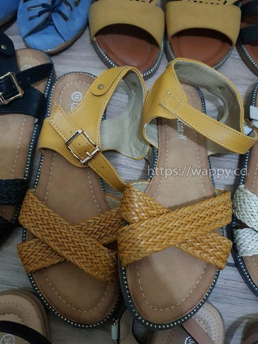 Talons tapettes sandales