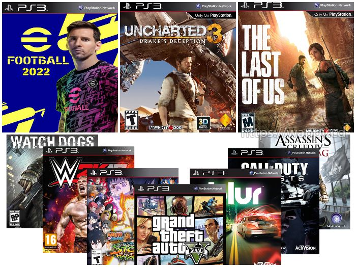 Installation de jeux PS3