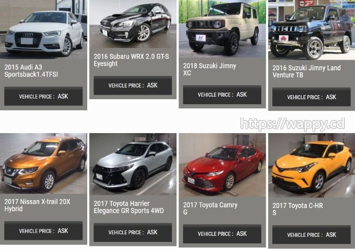 Looking for used vehicles directly from Japan?
