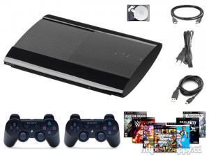 PlayStation 3 + 2 Manettes + 8 Jeux au choix