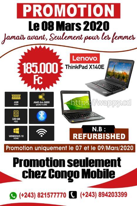 Laptop Lenovo x140e