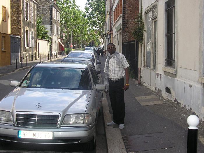 Ma voiture Mercedes en vente