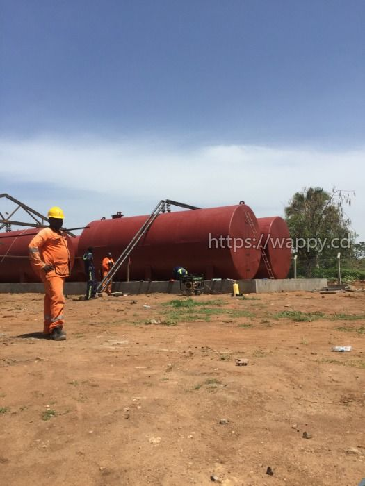 STEEL TANKS AND FUEL DEPOT CONSTRUCTION