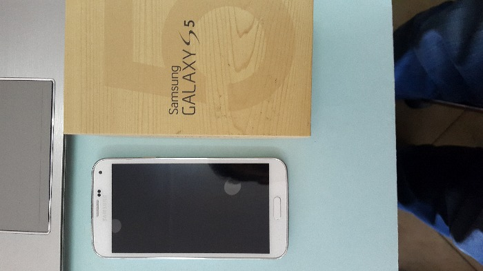 Samsung S5 [Blanc]