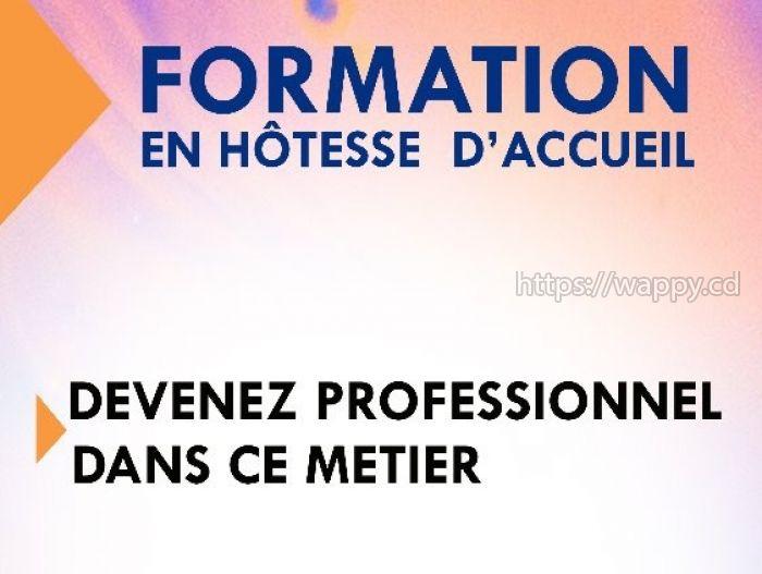 FORMATION  HÔTESSE D'ACCUEIL  /RÉCEPTIONNISTE