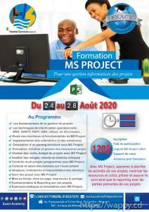 Formation sur le logiciel MS Project
