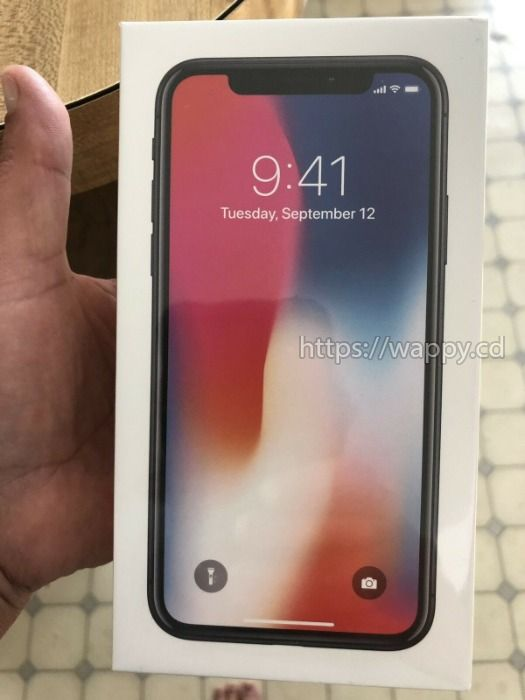 Apple iPhone X+ apple iwatch