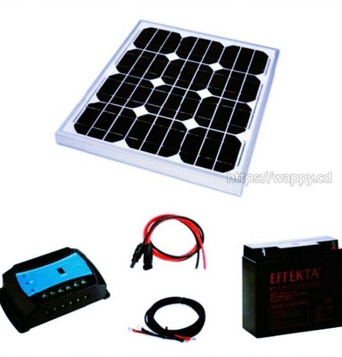 Installation du kit solaire