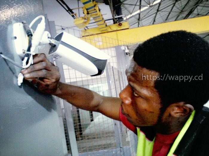 Installation des caméras vidéo surveillance