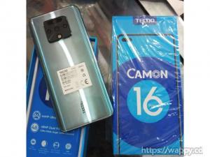 Tecno Camon 16 128GB $150 Whatsapp : +18566810896