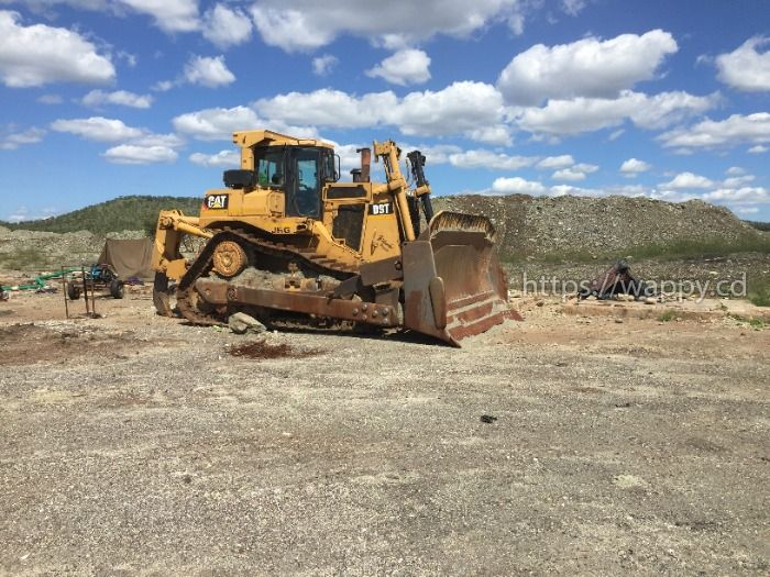 Caterpillar D9T Bulldozer and other Equipment