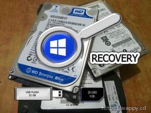 Récupération des fichiers perdus