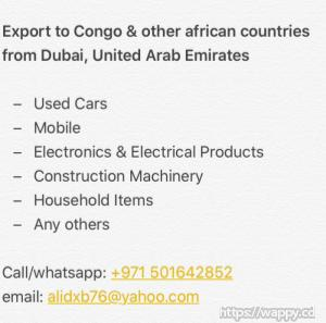 Buy used car, mobile etc etc from Dubai