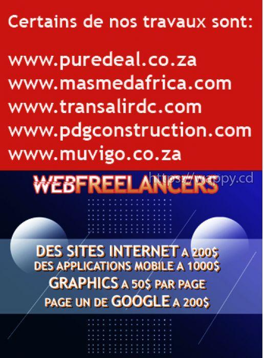 Des sites internet et graphics