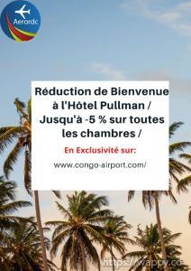 Promotion Réservation chambre Hôtel Pullman