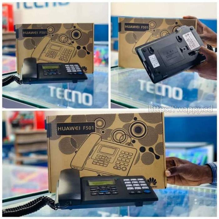 Téléphone Fixe Huawei Standard avec Sim.