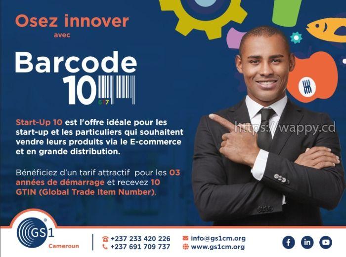 Obtenez vos code-barres GS1 Barcode
