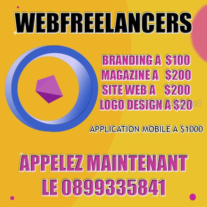 Website. Grapique design