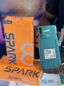 Tecno SPARK 8 nouveauté