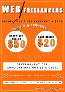 Services de design des sites internet