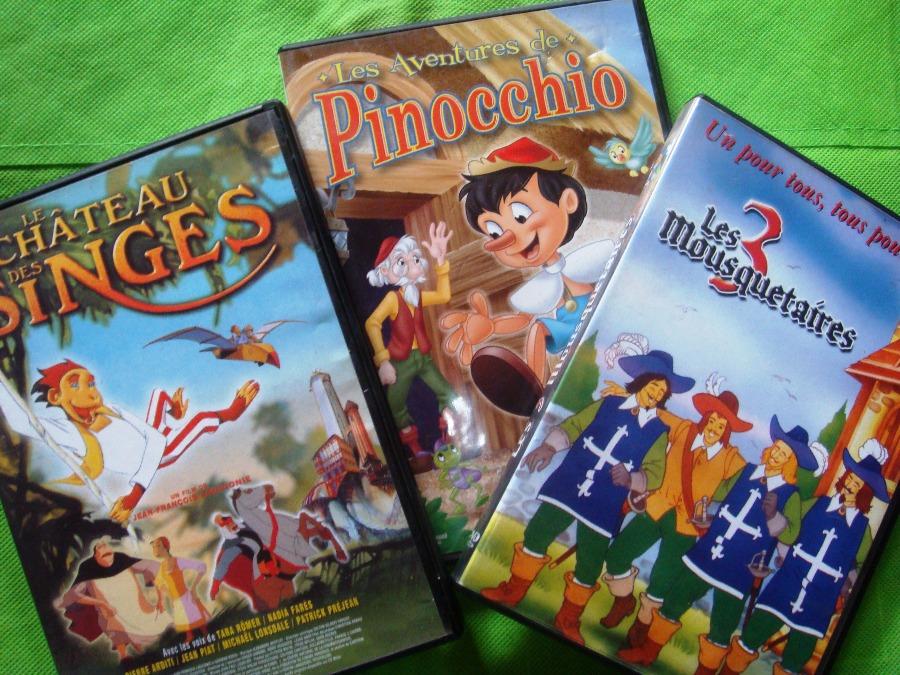 Films DVD pour enfants