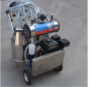 Machine à traire mobile avec moteur à es