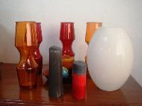 Vases et bougies de décoration
