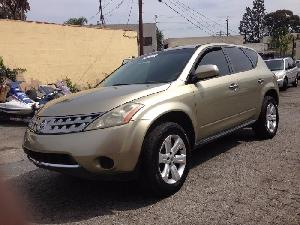 Nissan Murano USA stock