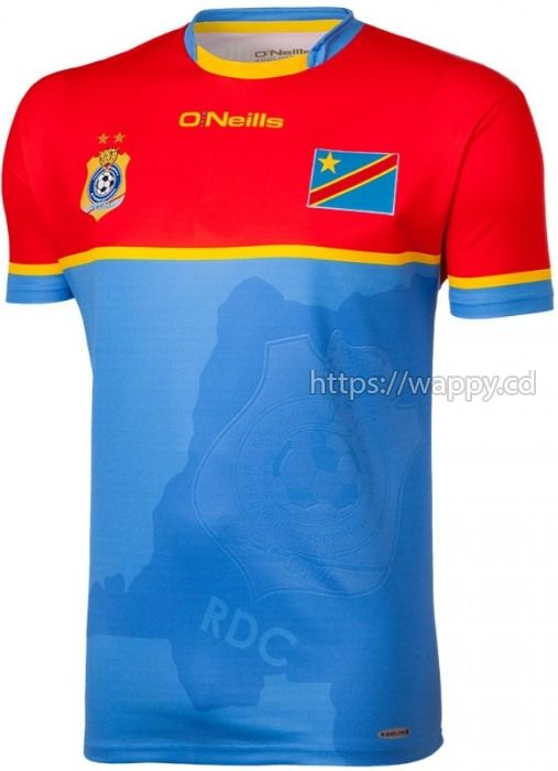 Maillot Léopards RDC Officiel (Vareuse Originale)