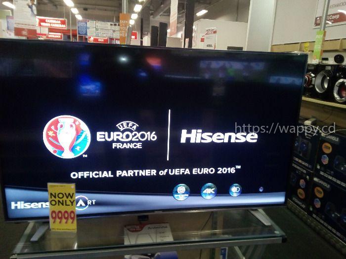 "HISENSE 55""FULL HD SMART TV"
