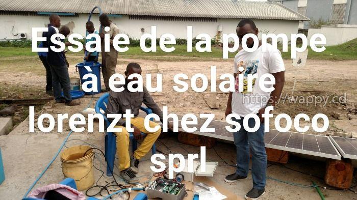 Etudes, installation des systèmes solaires PV