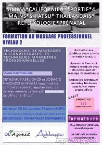 FORMATIONS INTERNATIONALES EN MASSOTHERAPIE